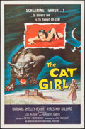 "Movie Posters:Horror, The Cat Girl (American International, 1957). One Sheet (27"" X 41"").Horror.. ..."