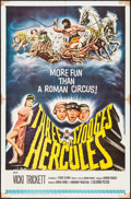 "Movie Posters:Comedy, The Three Stooges Meet Hercules (Columbia, 1962). One Sheet (27"" X41""). Comedy.. ..."