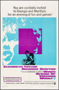 "Movie Posters:Drama, Who's Afraid of Virginia Woolf? (Warner Brothers, 1966). One Sheet(27"" X 41""). Drama.. ..."