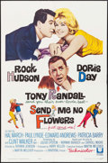 "Movie Posters:Comedy, Send Me No Flowers (Universal, 1964). One Sheet (27"" X 41"").Comedy.. ..."