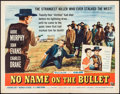 "Movie Posters:Western, No Name on the Bullet (Universal International, 1959). Half Sheet(22"" X 28"") & Lobby Card Set of 8 (11"" X 18""). Western.. ...(Total: 9 Items)"
