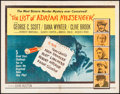 "Movie Posters:Mystery, The List of Adrian Messenger (Universal, 1963). Half Sheet (22"" X 28"") & Lobby Card Set of 8 (11"" X 14""). Mystery.. ... (Total: 9 Items)"