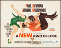"Movie Posters:Comedy, A New Kind of Love (Paramount, 1963). Half Sheet (22"" X 28"") &Lobby Card Set of 8 (11"" x 14""). Comedy.. ... (Total: 9 Items)"