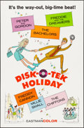 "Movie Posters:Rock and Roll, Disk-O-Tek Holiday (Allied Artists, 1964). One Sheet (27"" X 41""). Rock and Roll.. ..."