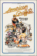 """Movie Posters:Comedy, American Graffiti & Other Lot (Universal, 1973). One Sheets (2)(27"""" X 41"""", 23"""" X 39""""). Comedy.. ... (Total: 2 Items)"""