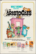 """Movie Posters:Animation, The Aristocats (Buena Vista, 1970). One Sheet (27"""" X 41"""").Animation.. ..."""