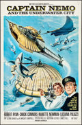 "Movie Posters:Science Fiction, Captain Nemo and the Underwater City (MGM, 1969). One Sheet (27"" X41""). Science Fiction.. ..."