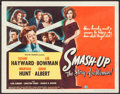 "Movie Posters:Drama, Smash-Up: The Story of a Woman (Universal International, 1947).Title Lobby Card (11"" X 14""). Drama.. ..."
