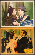 """Movie Posters:Drama, Confession & Other Lot (Warner Brothers, 1937). Lobby Cards (2)(11"""" X 14""""). Drama.. ... (Total: 2 Items)"""