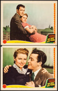"Movie Posters:Romance, We Who Are Young (MGM, 1940). Lobby Cards (2) (11"" X 14"").Romance.. ... (Total: 2 Items)"