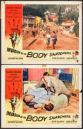 "Movie Posters:Science Fiction, Invasion of the Body Snatchers (Allied Artists, 1956). Lobby Cards(2) (11"" X 14""). Science Fiction.. ... (Total: 2 Items)"