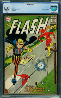 The Flash #121 - CBCS CERTIFIED (DC, 1961) CGC VG/FN 5.0 Off-white to white pages