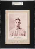Baseball Cards:Singles (Pre-1930), 1902-11 W600 Sporting Life Roger Bresnahan (Type 3) SGC 60 EX 5 -Pop. Three, One Finer. ...