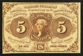 Fractional Currency:First Issue, Fr. 1231 5¢ First Issue Choice New.. ...