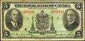 Canadian Currency: , Montreal, PQ- Royal Bank of Canada $5 Jan. 2, 1935 Ch. #630-18-02a. ...