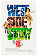 "Movie Posters:Academy Award Winners, West Side Story (United Artists, R-1968). One Sheet (27"" X 41""),Uncut Pressbook (6 Pages, 13"" X 18"") & Printing Plates (2) ...(Total: 4 Items)"