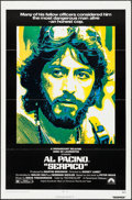 "Movie Posters:Crime, Serpico (Paramount, 1974). One Sheet (27"" X 41""). Crime.. ..."