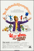 "Movie Posters:Fantasy, Willy Wonka & the Chocolate Factory (Paramount, 1971). OneSheet (27"" X 41""). Fantasy.. ..."