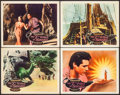 """Movie Posters:Fantasy, The 7th Voyage of Sinbad (Columbia, 1958). Autographed Lobby Card& Lobby Cards (3) (11"""" X 14""""). Fantasy.. ... (Total: 4 Items)"""