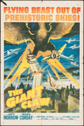 "Movie Posters:Science Fiction, The Giant Claw (Columbia, 1957). One Sheet (27"" X 41""). ScienceFiction.. ..."