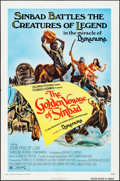 "Movie Posters:Fantasy, The Golden Voyage of Sinbad (Columbia, 1973). One Sheet (27"" X 41"") & Uncut Pressbook (6 Pages, 11"" X 17""). Fantasy.. ... (Total: 2 Items)"