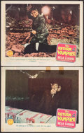 "Movie Posters:Horror, The Return of the Vampire (Columbia, 1943). Lobby Cards (2) (11"" X14""). Horror.. ... (Total: 2 Items)"