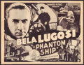 """Movie Posters:Thriller, Phantom Ship (Guaranteed Pictures, 1935). Trimmed Title Lobby Card (10.75"""" X 14""""). Thriller.. ..."""