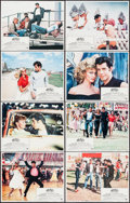 "Movie Posters:Musical, Grease (Paramount, 1978). Lobby Card Set of 8 (11"" X 14"").Musical.. ... (Total: 8 Items)"