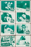 "Movie Posters:Horror, The Return of the Vampire (Columbia, R-1948). Lobby Card Set of 8(11"" X 14""). Horror.. ... (Total: 8 Items)"