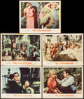 "Movie Posters:Science Fiction, The Time Machine (MGM, 1960). Lobby Cards (5) (11"" X 14""). ScienceFiction.. ... (Total: 5 Items)"