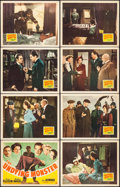 """Movie Posters:Horror, The Undying Monster (20th Century Fox, 1942). Lobby Card Set of 8(11"""" X 14""""). Horror.. ... (Total: 8 Items)"""