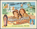 "Movie Posters:Comedy, Abbott and Costello Meet the Mummy (Universal International, 1955).Title Lobby Card (11"" X 14""). Comedy.. ..."