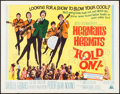 "Movie Posters:Rock and Roll, Hold On! (MGM, 1966). Half Sheet (22"" X 28""). Rock and Roll.. ..."