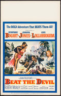 "Movie Posters:Adventure, Beat the Devil (United Artists, 1953). Window Card (14"" X 22"").Adventure.. ..."