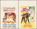 "Movie Posters:Comedy, Casanova's Big Night & Other Lot (Paramount, 1954). WindowCards (2) (14"" X 22""). Comedy.. ... (Total: 2 Items)"
