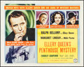 "Movie Posters:Mystery, Ellery Queen's Penthouse Mystery (Columbia, 1941). Half Sheet (22""X 28""). Mystery.. ..."