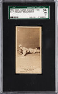 Baseball Cards:Singles (Pre-1930), 1887 N172 Old Judge Tommy McCarthy, St. Louis (#301-1) SGC 84 NM 7- Pop One, The Highest Graded Example! . ...