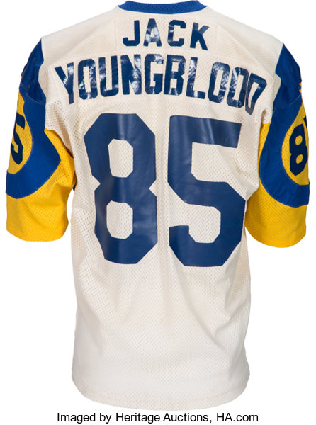 info for 7f9c5 145b6 Mid to Late 1970's Jack Youngblood Game Worn Los Angeles ...