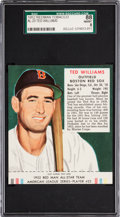 Baseball Cards:Singles (1950-1959), 1952 Red Man Ted Williams #23A SGC 88 NM/MT 8 - None Higher.. ...