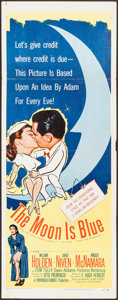 "Movie Posters:Comedy, The Moon Is Blue & Other Lot (United Artists, 1953). Inserts(2) (14"" X 36""). Comedy.. ... (Total: 2 Items)"