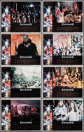 """Movie Posters:Fantasy, Excalibur (Warner Brothers, 1981). Lobby Card Set of 8 (11"""" X 14""""). Fantasy.. ... (Total: 8 Items)"""