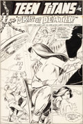 Original Comic Art:Splash Pages, Gil Kane and Nick Cardy Teen Titans #24 Page 2 Original Art(DC, 1969)....