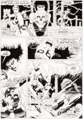Original Comic Art:Panel Pages, Paul Gulacy and Gary Martin Marvel Graphic Novel: Conan theBarbarian: The Skull of Set Stor...