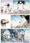 Original Comic Art:Panel Pages, Arthur Suydam - Mudwogs Story Page Original Art (c. 1980-2000s)....