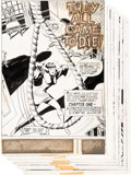 Original Comic Art:Panel Pages, Don Heck Forbidden Tales of Dark Mansion #5 Near-CompleteStory Original Art Group of 35 (DC, 1972).... (Total: 35 OriginalArt)