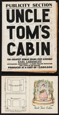 """Movie Posters:Drama, Uncle Tom's Cabin (Universal, 1927). Pressbook (18 Pages, 11.5"""" X18"""") & Program (9.5"""" X 6.25""""). Drama.. ... (Total: 2 Items)"""