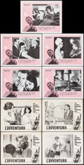 "Movie Posters:Foreign, L'Avventura & Others Lot (Cino del Duca, 1961). Lobby Cards(16) (11"" X 14"") & Uncut Pressbook (12 Pages, 13"" X 19"").Foreig... (Total: 17 Items)"