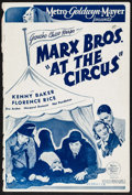 "Movie Posters:Comedy, At the Circus (MGM, 1939). British Pressbook (12 Pages, 9.75"" X14.5""). Comedy.. ..."