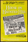 Movie Posters:Horror, House on Haunted Hill (Allied Artists, 1959). Pressbook (MultiplePages). Horror.. ...