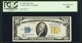 Small Size:World War II Emergency Notes, Fr. 2309 $10 1934A North Africa Silver Certificate. PCGS ChoiceAbout New 55.. ...